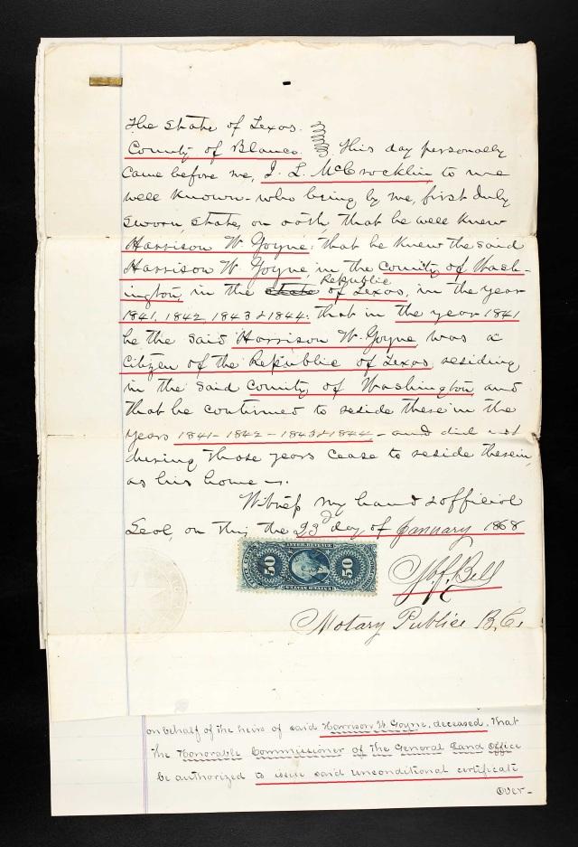 1873 Harrison Goyne Texas recs p7
