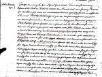 1746 land grant to John Eubank in Fredericksville VA 1