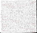 1746 Richard Eubanks will in Talbot Co MD marked wife Tamson a son Henry p1
