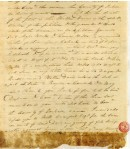 1815 11 26 William Eubanks letter re Sterling Dupree election for Colonel in Jackson MS 5 snip