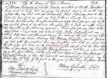1816 William Eubanks will in Iredell Co NC marked son William and daughter snip