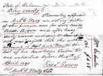 1841 04 05 William Eubanks estate Perry Co, AL p22 marked account 2 snip