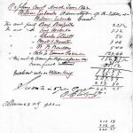 1842 03 William Eubanks estate Perry Co, AL p49 marked account snip