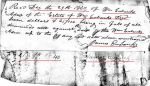 1846 01 14 William Eubanks estate Perry Co, AL p44 pmt to Littleton Eubanks marked snip