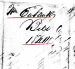 1846 01 14 William Eubanks estate Perry Co, AL p48 marked account receipts 1 snip