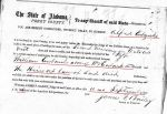 1860 09 10 William Eubanks estate Perry Co, AL p53 marked summons snip