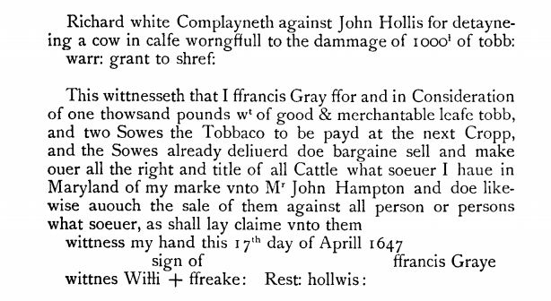 1647-april-17-white-v-hollis-re-cow-w-rest-hollis-as-witness-in-md