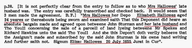 1655-july-20-elizabeth-hallowes-testifies-re-late-husband-and-recognizing-handwriting-of-john-sturman