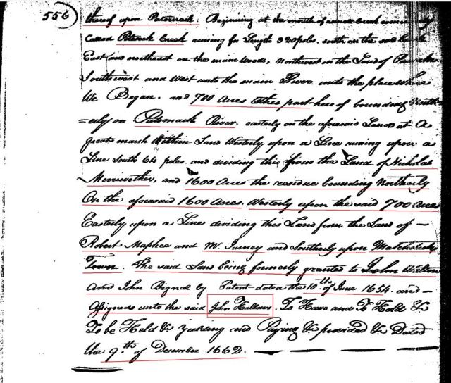 1662-dec-grant-to-william-hallows-pg-2-marked-snip