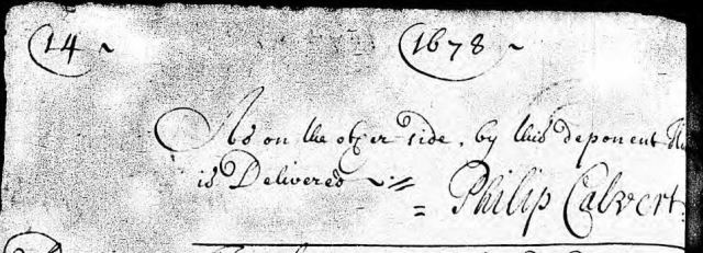 1678-march-28-henry-hollis-is-25-yrs-old-and-oath-re-john-grammer-will-in-calvert-co-md-p3-marked-snip