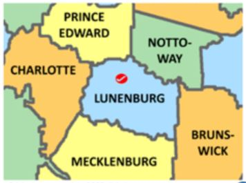 Lunenburg Co map