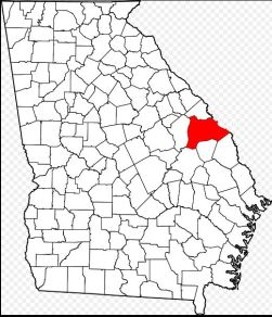 Burke Co Ga location map
