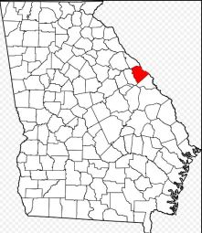 Columbia County location map