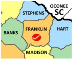 Franklin Co map