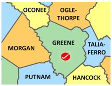 Greene Co map