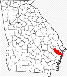 Liberty County location map