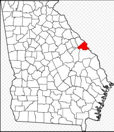 Richmond Co location map