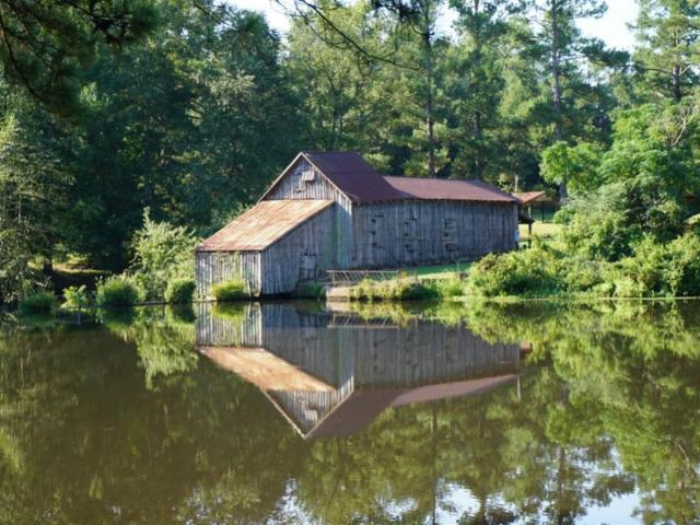 Joseph Henry Hines property with photo of Jordan Mill in Ga 1